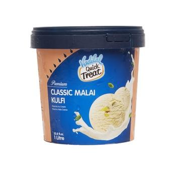 Vadilal Malai Kulfi Icecream 1 ltr