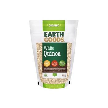 Earth Goods Organic White Quinoa 500g