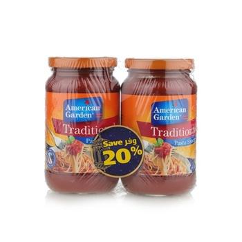 American Garden Traditional Pasta Sauce 2 x 14oz.