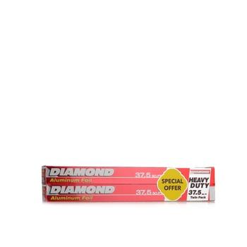 Diamond Aluminum Foil 2 x 37.5 sq.ft. @ 10% Off