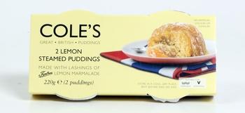 Coles Lemon Steamed Pud 2 x 110g