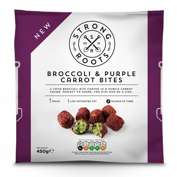 Strong Roots Broccoli & Purple Carrot Bites 400g