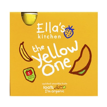 Ellas Kitchen The Yellow One Smoothie Fruit 5 X 90g