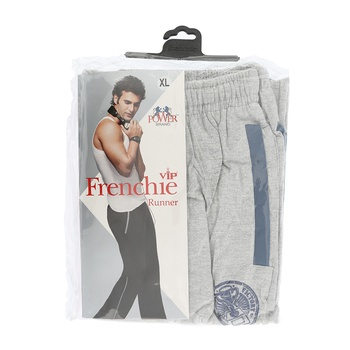 Frenchie Mens Track Pant Runner - XL