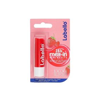 Labello Lip Balm Fruity Shine Strawberry 4.8g