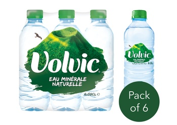 Volvic Water 6 X 500ml