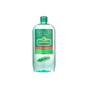 Green Cross Isopropyl Alcohol 70% Solution With Moisturizer 500ml
