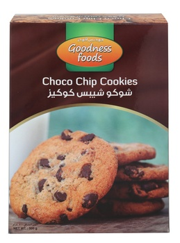 Goodness Foods Choco Chip Cookies 500g