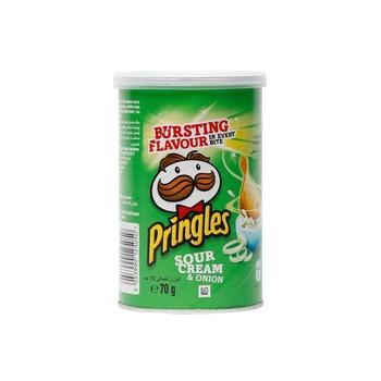 Pringles Sour Cream And Onion 70g