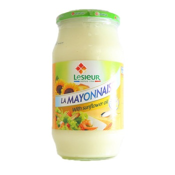 Lesieur Mayonnaise With Sunflower Oil 710g