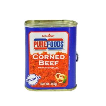 Purefoods Regular Halal Corned Beef 340g (Red Label)