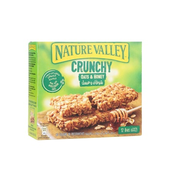 Nature Valley Crunchy Granola Bar Oat & Honey 252g