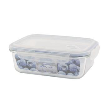 Borosilicate Glass Container 1650ml