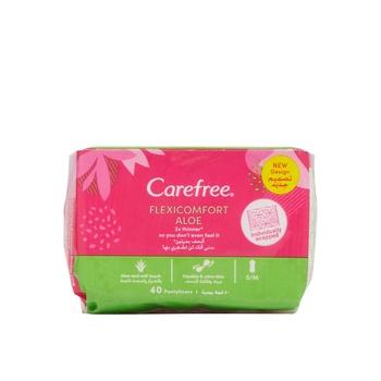 Carefree Flexi Comfort Aloe 40s