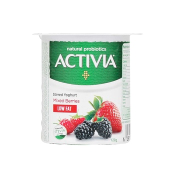 Activia Yoghurt Mix Berry Light 120g
