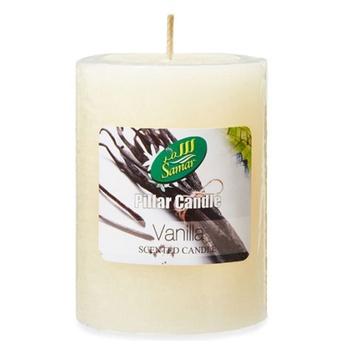 Samar Pillar Candle 7.5X10Cm