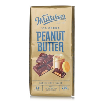 Whittakers Peanut Butter Bar 220g