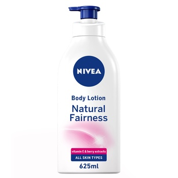 NIVEA Body Care Body Lotion Natural Fairness Dry Skin 625ml