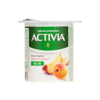 Activia Yoghurt Peach Apricot 120g