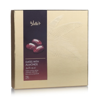 Jomara Dates with Almond Gift Box 225g