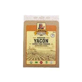 London Super Foods Organic Gluten Free Yacon Powder 100g