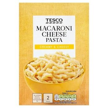 Tesco Macaroni Cheese Pasta 120g