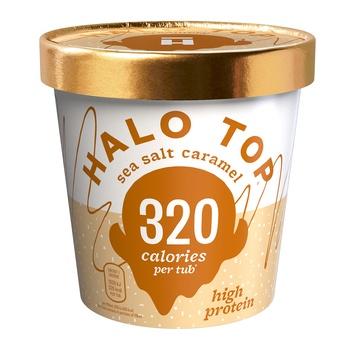 Halo Top Sea Salt Caramel Ice 473g