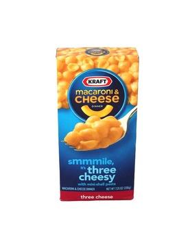 Kraft Macaroni & Cheese With Three Cheese 206g
