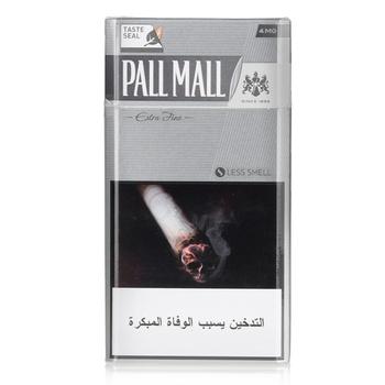 Pall Mall Cigarettes Fine Cut Silver 20s