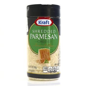 Kraft Shredded Parmesan Cheese 198g