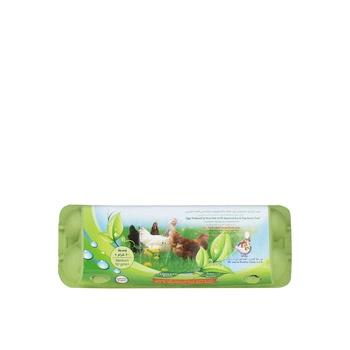 Eco & Vegetarian Fed Hen Eggs White/Brown (Medium 50+) 12s Pack