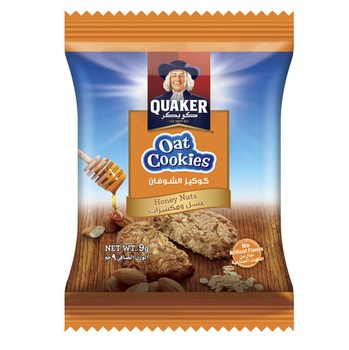 Quaker Oats Cookies Honey Nut 9g