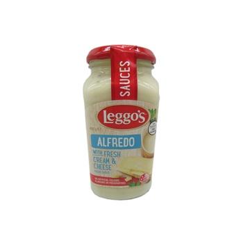 Leggo'S Alfredo Pasta Sauce With Fresh Cream & Cheese 490g