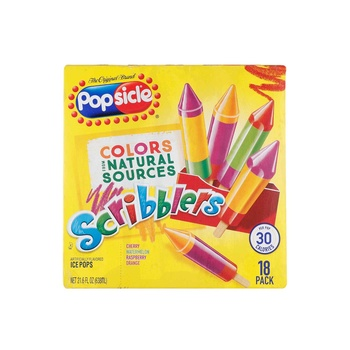 Popsicle Scribblers Natural 18s Pack