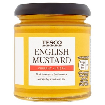 Tesco English Mustard 190g