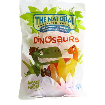 The Natural Jelly Dinosaurs 200g