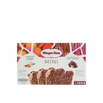 Haagen Dazs Minis V/Crml&Choc Almd 5X40Ml