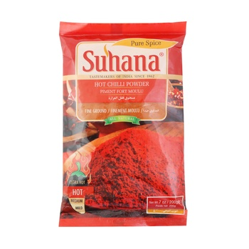 Suhana Hot Chilli Powder 200g