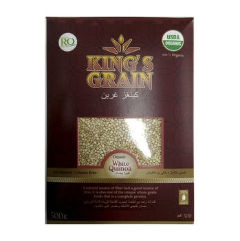 Kings Grain Royal White Quinoa 254g