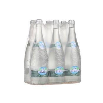 Al Ain Sparkling Water 6x750ml Glass Bottle