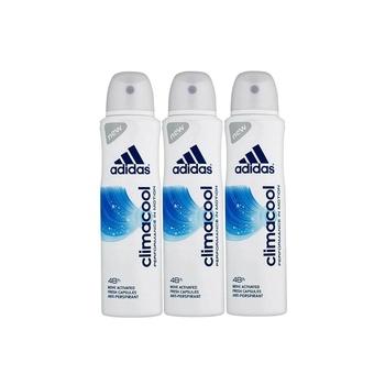 Adidas climacool 48h antiperspirant body spray for women 150 ml pack of 3