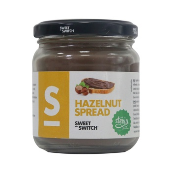 Stevia Sweet Switch Hazelnut Spread 200g