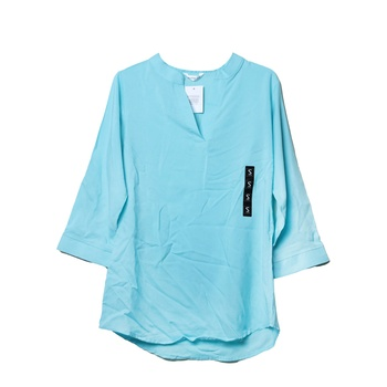 Ladies Full Sleeve Long Back Plain Blouse