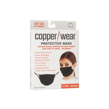 Copper Wear Face Mask 2 pieces