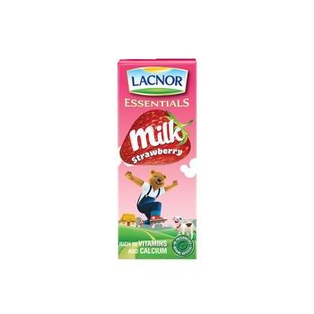 Lacnor Milk Strawberry 12 x 180 ml @ 20 % off
