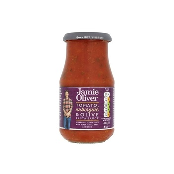 Jamie Oliver Hearty Aubergine Olive 400g
