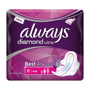 Always Ultra Diamond 8s