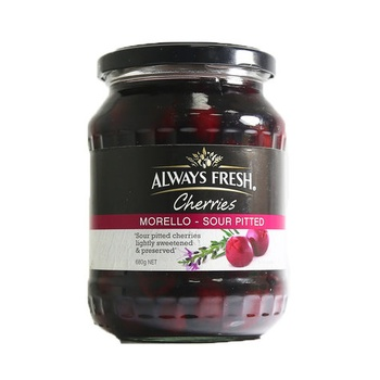 Always Fresh Sour Pitted Cherries 680g