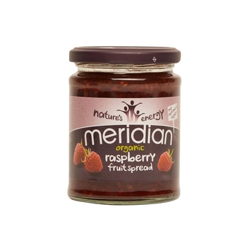 Meridian organic raspeberry spread 284g