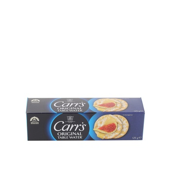 Carrs Table Water Bite Size 125g